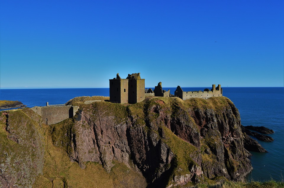 Le château de Dunnottar